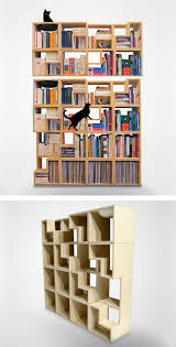 Small Bookshelf Plans Furniture Cool Bookcases Modern Bookshelf Bookshelf Plans Most