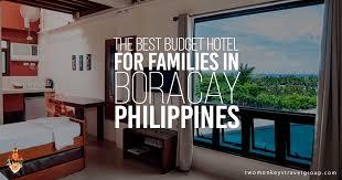 Best Budget Hotel For Families In Boracay Philippines - Family room in boracay