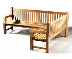 balmoral teak outdoor corner bench 5 6 seater right orientation