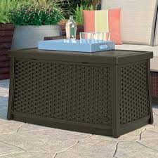 Wicker Storage Ottoman Coffee Table With Wicker Baskets Wicker Storage Trunk Coffee Table