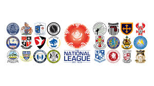 vanarama national league table vanarama national league 2015 16 pt 1 aldershot town fc