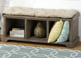 Cushioned Storage Bench Storage Bench Cover Image Of Cushioned Storage Bench Color Outdoor