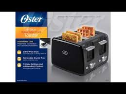 Bella Linea 4 Slice Toaster Must See Review Oster Tssttrwf4s 4 Slice Toaster Youtube