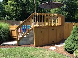 outdoor landscaping around above ground pool cost of above