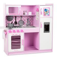 kinderk che holz rosa doug kinderküche rosa 14002 pirum