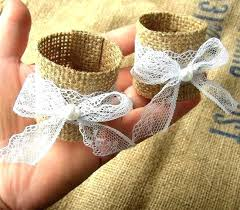 bulk lace ribbon burlap napkin rings bulk how to make burlap bunny ear napkin rings