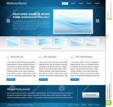 business website design template royalty free stock photo image