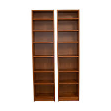 Wood Bookcase With Doors Bookcases Shelving Used Bookcases Shelving For Sale