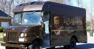 in the middle of the ups sends delivery drivers a