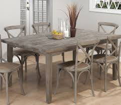 gray dining room table stunning as reclaimed wood dining table and