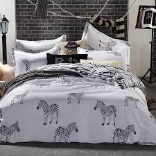 Queen Zebra Comforter Bedding Fabulous Zebra Bedding Ruoyilan Font B Set King Queen