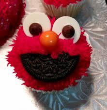 elmo cupcakes cookie elmo cupcakes when feta met olive