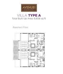 avenue 353 villa floor plans dubailand planos de casas de