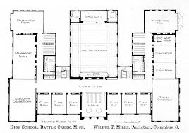 second floor plan knowlton school digital library battle creekhs secondfloorplan jpg second floor plan