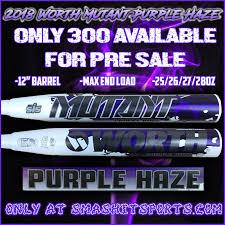 worth mutant 2018 worth mutant purple edition max endload usssa slowpitch