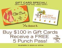 Wishing Tree Cards The Wishing Tree Gift Card Wishing Tree Play Cafe White Bear Lake