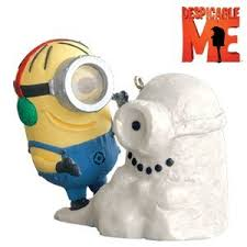despicable me despicable snowminion 2010 hallmark