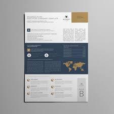 business plan executive summary templates creative market