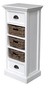 bathroom cabinets slim bathroom storage 3 drawer wicker storage