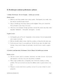 Accounts Receivable Clerk Resume Sample Bookkeeper Job Description Job Performance Evaluation Bookkeeper
