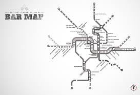 Portland Metro Map by Washington Dc U0027s First Map Of Bars Near The Metro Thrillist