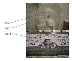 granite monuments finishes
