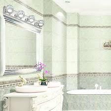 modern bathroom led k9 crystal wall fixture mirror front lamp