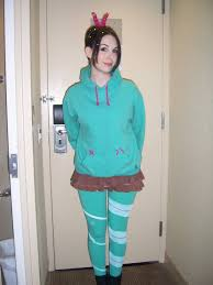 Wreck It Ralph Costume Wreck It Ralph Vanellope Cosplay For Anime Central By