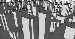 in mark we trust cinema 4d sketch renders of city