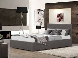 birlea berlin ottoman bed fabric grey double amazon co uk