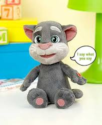 talking tom stuffed animal the lakeside collection