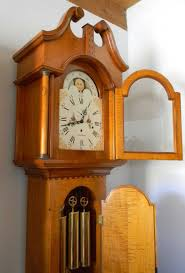 buy a handmade federal style grandfather clock reproduction