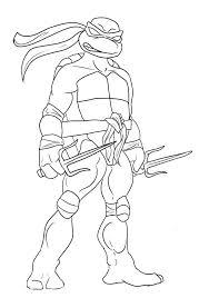 tmnt coloring pages lineart tmnt ninja turtles