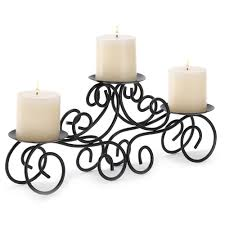 amazon com gifts u0026 decor tuscan candle holder wrought iron