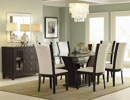 minimalist dining room design with dining table glass interesting