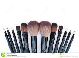 professional makeup brushes stock photography image 27151572
