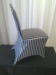 black and white chair covers chair decor black white stripe stretch chair cover