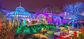 phipps conservatory christmas lights winter flower show and light garden christmas christmas wishes