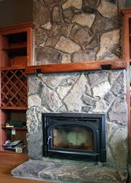 real stone fireplaces home design