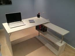 Office Workstation Desk by White Oxford Rotating Computer Executive Study Office Workstation