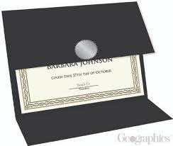diploma holder black certificate diploma holders tri fold 9 25 x12 5 geographics