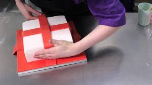 Christmas Cake Decorations Easy by Easy Christmas Parcel Cake Youtube