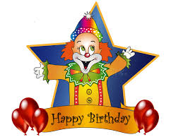 two cheerful clowns birthday children bright stock photo happy birthday stock illustration illustration of 6660927