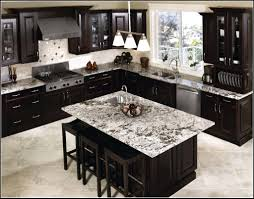Backsplash Design Ideas For Kitchen Impressive Kitchen Backsplash Ideas For Dark Cabinets Kitchen