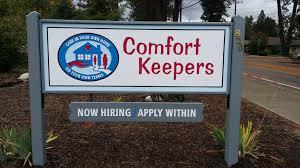 Comfort Keepers Spokane Home Marvicsigns Spokane Signs