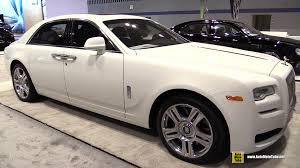 rolls royce white 2016 2015 rolls royce ghost series ii exterior and interior