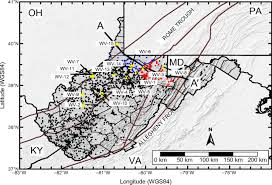 Map Of Wv Heat Flow And Thermal Modeling Of The Appalachian Basin West