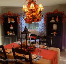 thanksgiving table decorations inexpensive 3 chandelier ideas for fall halloween u0026 thanksgiving the