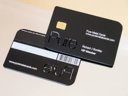 Chase Visa Business Credit Card The Coolest Metal Credit Cards