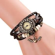 ladies bracelet with images Buy eleganzza women 39 s casual watch ladies bracelet watch heartwing jpg